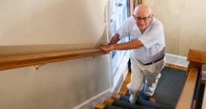 Safer stairs for older adult